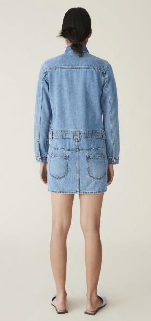 Ganni - Robes Courtes pour FEMME online sur Kate&You - F4634 K&Y7666