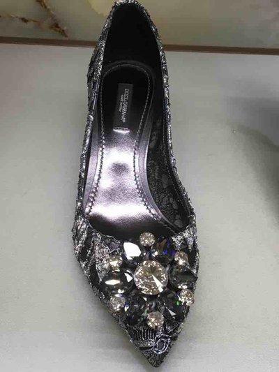 Dolce & Gabbana Pumps Escarpin Bellucci Rainbow Lace  Kate&You-ID1544
