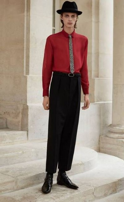 Yves Saint Laurent - Cropped Trousers - for MEN online on Kate&You - 660307Y1D011000 K&Y11920