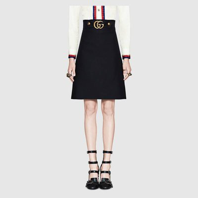 Gucci - Gonne ginocchio per DONNA online su Kate&You - ‎430572 ZHM88 1000 K&Y2174