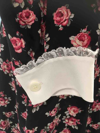 Miu Miu - Vestiti corti per DONNA Robe en marocain avec imprimé rose online su Kate&You - MF3330_1T2R_F004P K&Y1488