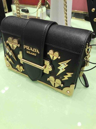 Prada - Mini Sacs pour FEMME Small Cahier Thunder online sur Kate&You - K&Y1395