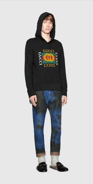 Gucci - Sweats pour HOMME online sur Kate&You - 454585 X5J57 1015 K&Y6562