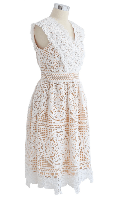 Chicwish - Robes Mi-longues pour FEMME online sur Kate&You - D190202018 K&Y7328
