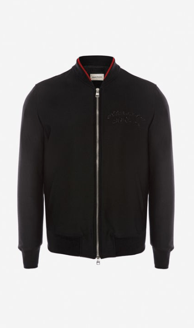 Alexander McQueen Bomber Jackets Kate&You-ID7732