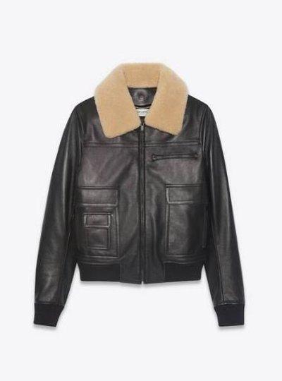 Yves Saint Laurent Кожаные куртки Kate&You-ID11665