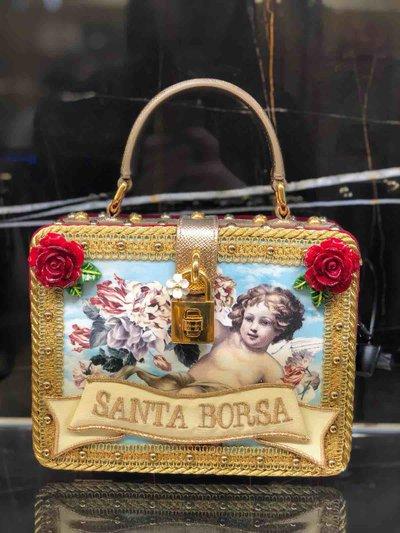 Dolce & Gabbana - Mini Sacs pour FEMME Dolce Box Santa Rosa online sur Kate&You - K&Y1453