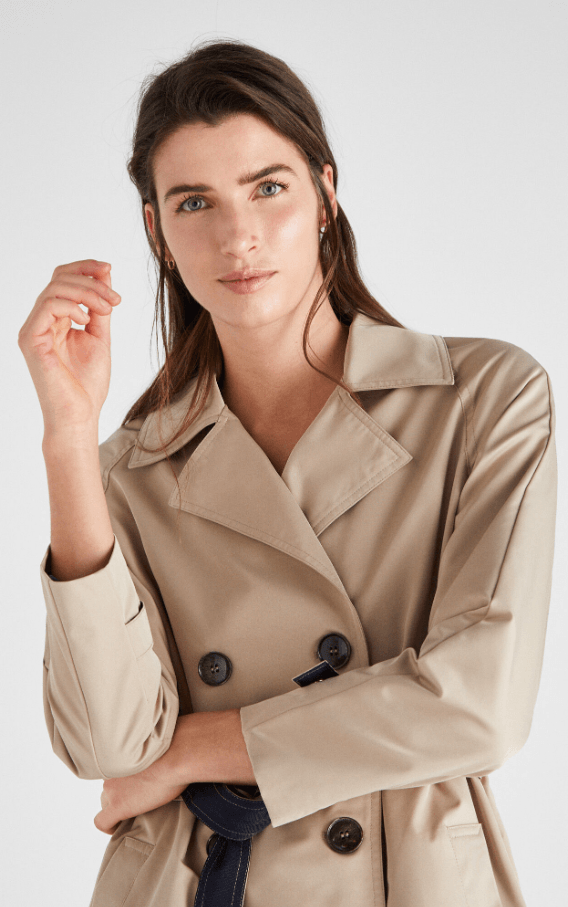 Cortefiel - Trench & impermeabili per DONNA online su Kate&You - 6617441 K&Y7273