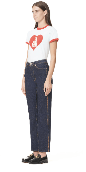 Lanvin - Cropped Jeans - for WOMEN online on Kate&You - RW-TR537D-DZ07-H2029 K&Y10148