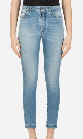Dolce & Gabbana Jeans Droits JEAN FIT AUDREY EN DENIM STRETCH Kate&You-ID8521