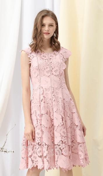Chicwish - Vestiti a 3/4 per DONNA online su Kate&You - D200123011 K&Y7387