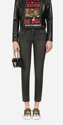 Dolce & Gabbana - Jeans Skinny pour FEMME Jean fit pretty en denim stretch online sur Kate&You - FTAH7DG8AZ9S9001 K&Y8523