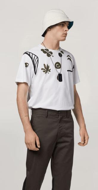 Marni - T-Shirts & Débardeurs pour HOMME online sur Kate&You - HUMU0141P0S2276300W01 K&Y7606