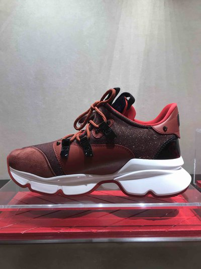 Christian Louboutin - Baskets pour HOMME Sneakers rouge online sur Kate&You - K&Y1622