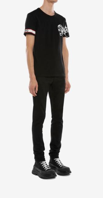 Alexander McQueen - T-shirts & canottiere per UOMO online su Kate&You - 599566QOZ690901 K&Y7760