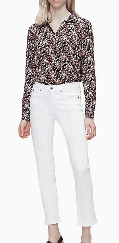 Calvin Klein - Jeans cropped per DONNA online su Kate&You - K20K201905 K&Y8813