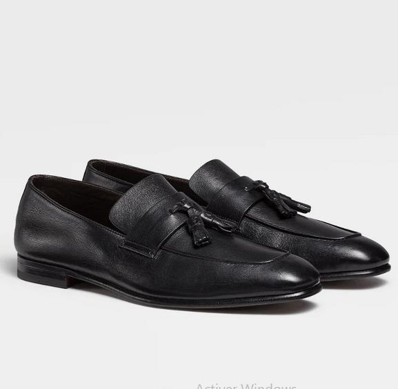 Ermenegildo Zegna - Chaussures à lacets pour HOMME online sur Kate&You - LHCHF-A4663X-NER K&Y9181