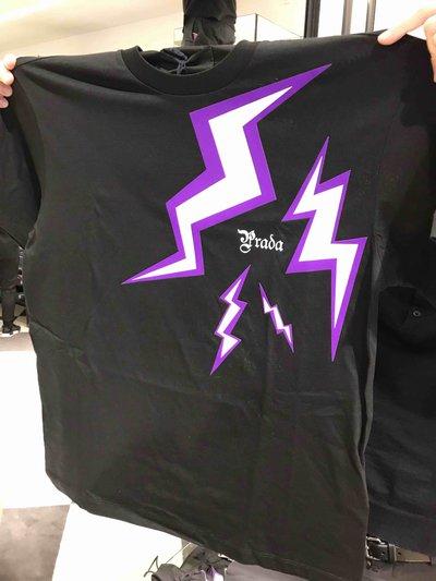 Prada T-Shirts & Vests Thunder T-shirt  Kate&You-ID1413