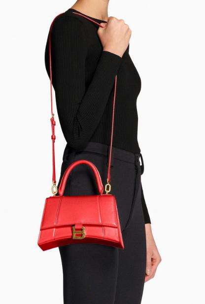 Balenciaga - Sacs portés épaule pour FEMME SAC TOP HANDLE HOURGLASS PETIT MODÈLE online sur Kate&You - 5935461QJ4M2702 K&Y8404