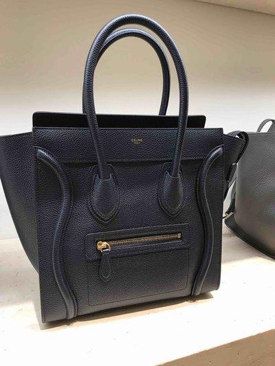 Тоуты - Celine для ЖЕНЩИН Handbag Luggage Mini онлайн на Kate&You - 189793DRU.09SO - K&Y1467