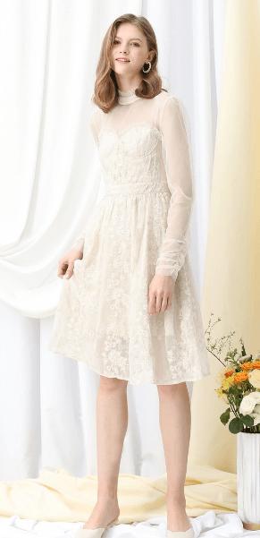 Chicwish - Vestiti a 3/4 per DONNA online su Kate&You - D200122024 K&Y7401