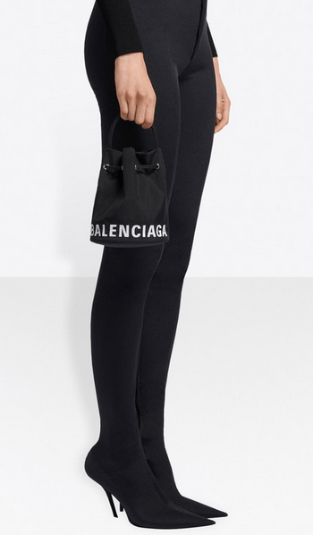Тоуты - Balenciaga для ЖЕНЩИН Sac Seau Wheel XS онлайн на Kate&You - 619458H852N1000 - K&Y8340