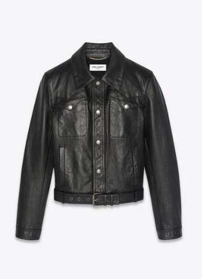 Yves Saint Laurent Кожаные куртки Kate&You-ID11688