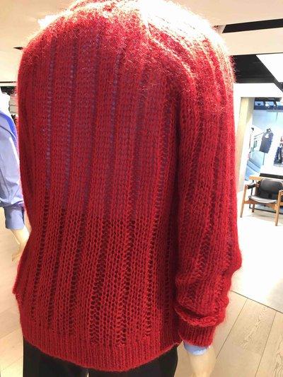Prada - Cardigans per UOMO Cardigan en laine et mohair online su Kate&You - UMC126_1UZ0_F0011_S_192 K&Y1597