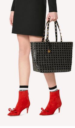 Red Valentino - Borse tote per DONNA online su Kate&You - SQ2B0B42XIQ 0NO K&Y6530