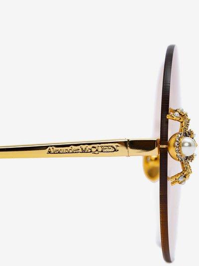 Солнцезащитные очки - Alexander McQueen для ЖЕНЩИН онлайн на Kate&You - 560671I33301299 - K&Y4808