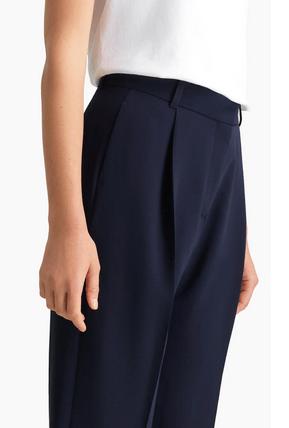 Chloé - Pantaloni dritti per DONNA Pantalon court en crêpe signature online su Kate&You - CHS20SPA100124C3 K&Y8343