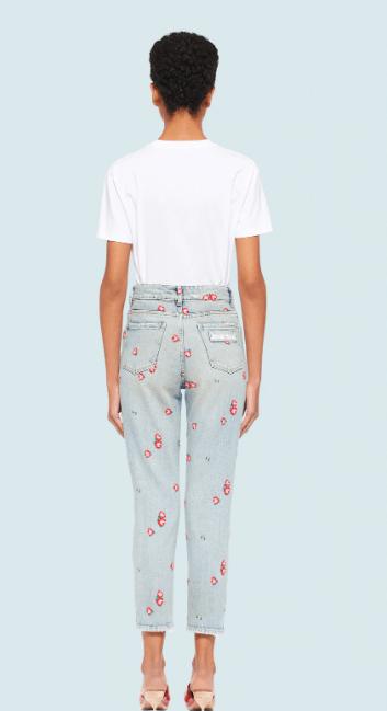 Miu Miu - Pantaloni slim per DONNA online su Kate&You - GWP302_1VZP_F0013 K&Y7918