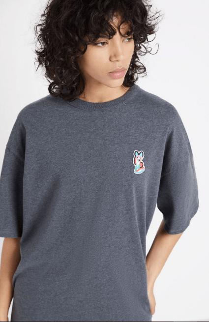 Maison Kitsuné - T-shirts per DONNA online su Kate&You - EU00171KJ0050-LGM K&Y8022
