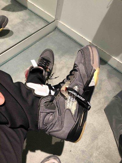 Jordan - Sneakers per UOMO Jordan 5 X off white online su Kate&You - K&Y6775