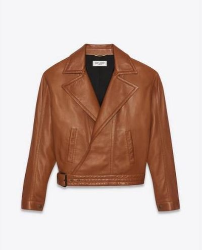 Yves Saint Laurent Кожаные куртки Kate&You-ID11691