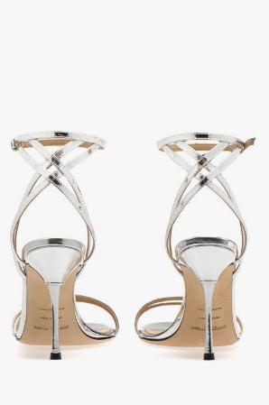 Босоножки  - Sergio Rossi для ЖЕНЩИН Godiva Steel онлайн на Kate&You - A88720MVIL01119.8102 - K&Y8514