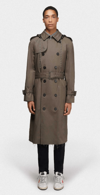 Golden Goose - Trench & impermeabili per UOMO online su Kate&You - G36MP588.A1 K&Y7637