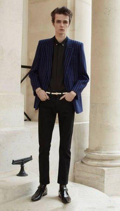 Yves Saint Laurent - Wide jeans - for MEN online on Kate&You - 670614YF8991220 K&Y11912