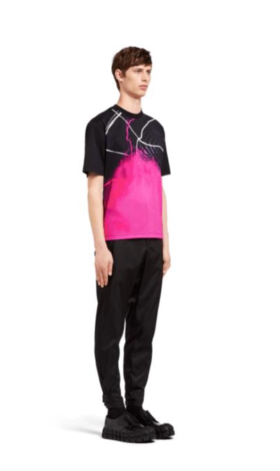 Prada - T-shirts & canottiere per UOMO online su Kate&You - UJN317_1VEK_F0002_S_162 K&Y2373