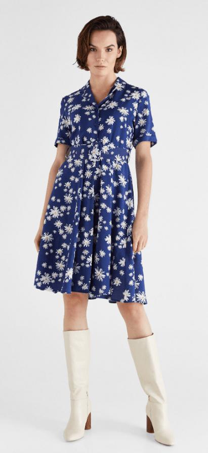 Cortefiel - Midi dress - for WOMEN online on Kate&You - 3077276 K&Y7282