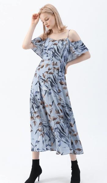 Chicwish - Vestiti lunghi per DONNA online su Kate&You - D190806017 K&Y7468