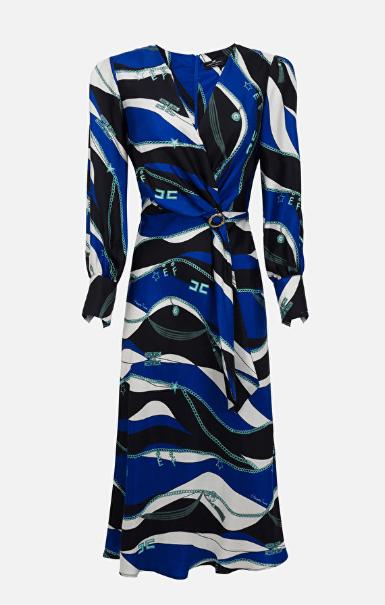 Elisabetta Franchi Midi dress Kate&You-ID7116