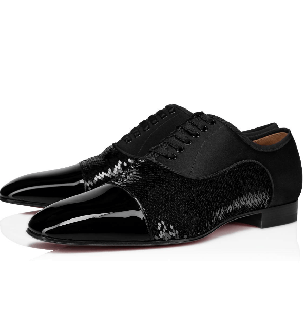 Christian Louboutin Chaussures à lacets Kate&You-ID6087