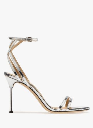 Sergio Rossi Sandals Godiva Steel Kate&You-ID8514