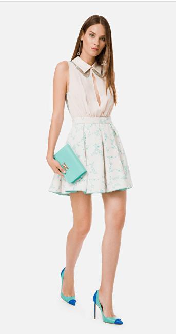 Короткие платья - Elisabetta Franchi для ЖЕНЩИН онлайн на Kate&You - AB22501E2 - K&Y7128