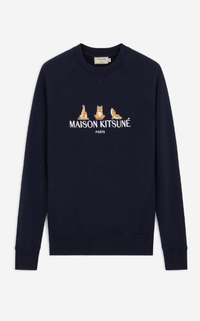 Maison Kitsuné Sweatshirts Kate&You-ID8003