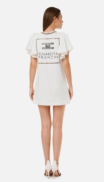 Elisabetta Franchi - Robes Courtes pour FEMME online sur Kate&You - AB14701E2 K&Y7112