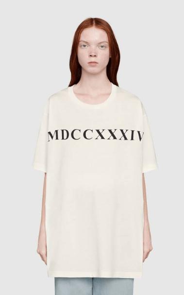 Gucci - T-shirts pour FEMME online sur Kate&You - 539081 XJCB5 9207 K&Y5930