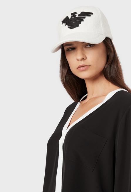 Giorgio Armani - Bonnets & Chapeaux pour FEMME online sur Kate&You - 6372129A500113240 K&Y5242