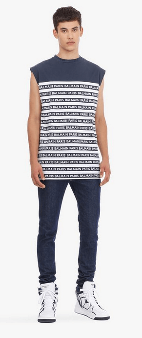 Balmain - T-Shirts & Débardeurs pour HOMME online sur Kate&You - K&Y7784